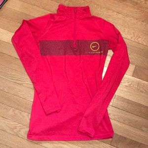 Nike Dri Fit Long Sleeve Quarter Zip
